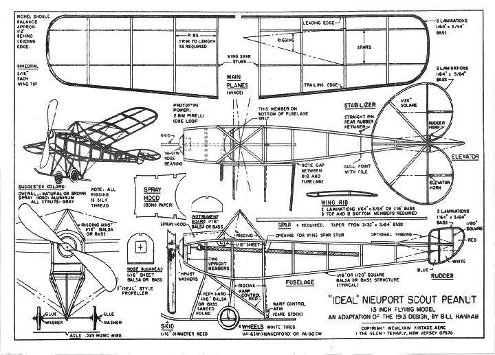 U0026quot Ideal U0026quot  Nieuport Scout Monoplane - Ama