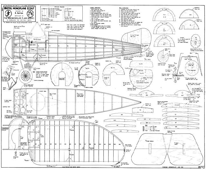 Bristol Monoplane Scout - Ama