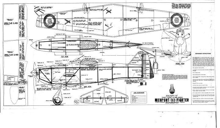 Nieuport 161 Monoplane - Ama