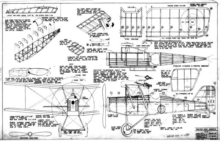 Royal Aircraft S E 5 Fighter  Incomplete Templates