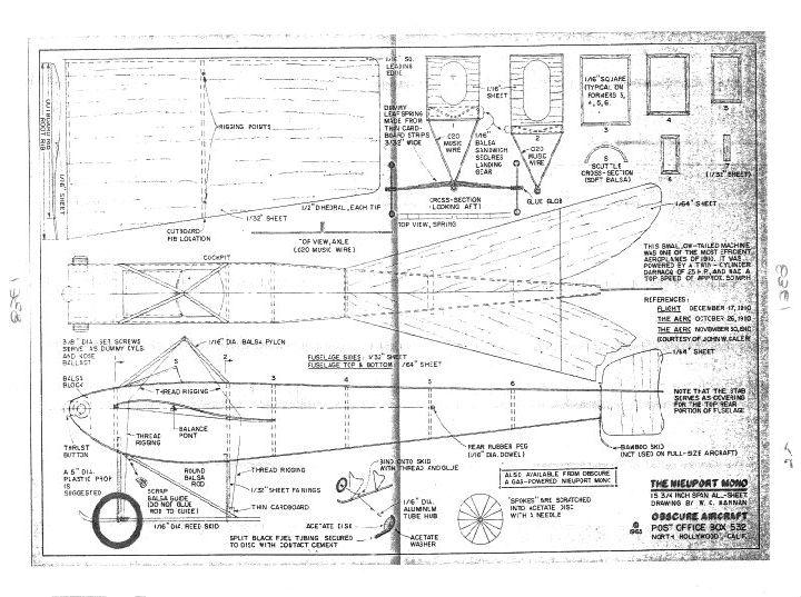 Nieuport Monoplane - Ama